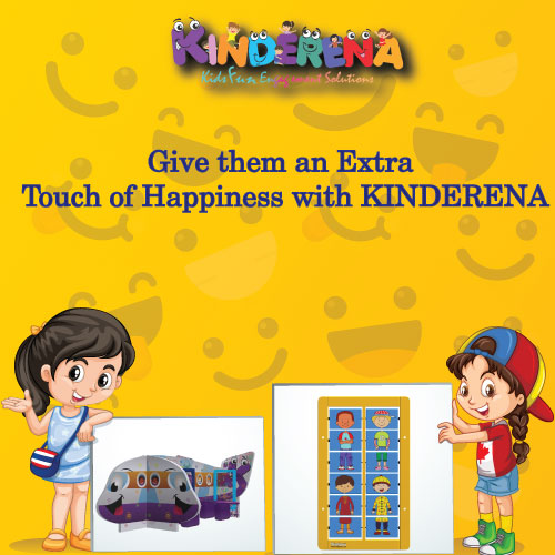 Give them an Extra Touch of Happiness with KINDERENA