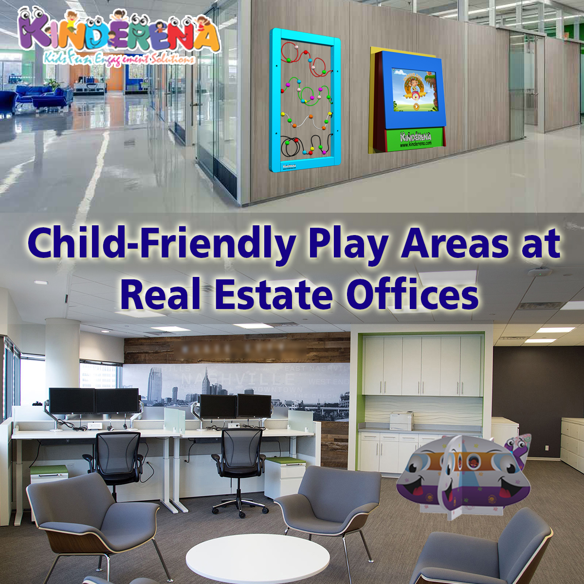 Child-Friendly Play Areas at Real Estate Offices