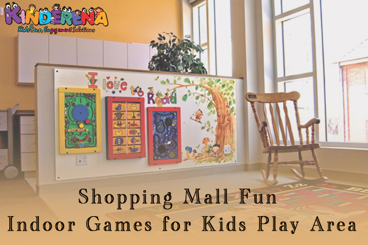 Shopping Mall Fun Indoor Games for Kids Play Area