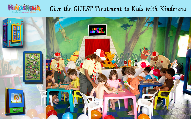 Give the GUEST Treatment to Kids with Kinderena