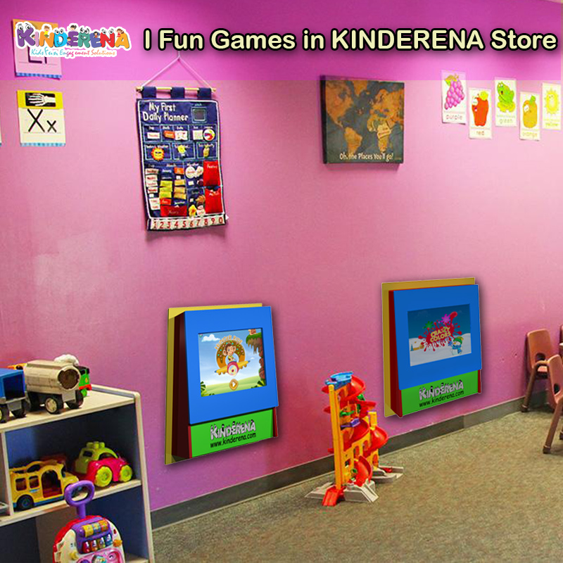 I Fun Digital Games for Instore Kids Corners