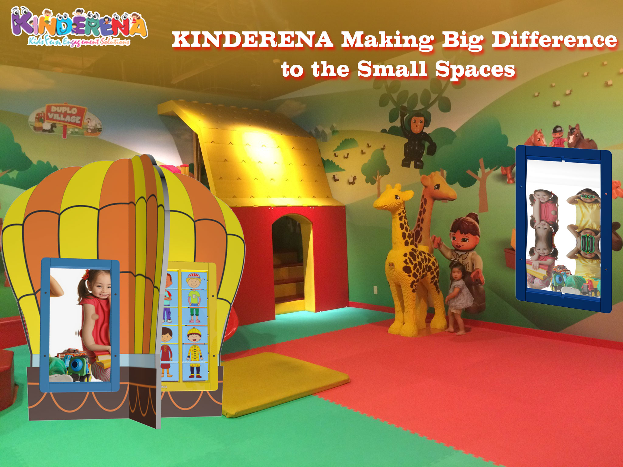 KINDERENA Making Big Difference to the Small Spaces