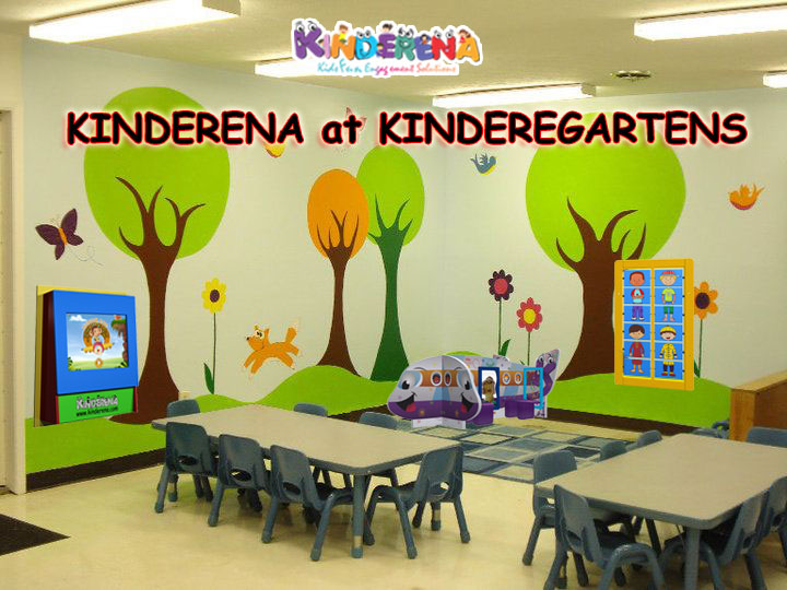 KINDERENA at KINDEREGARTENS