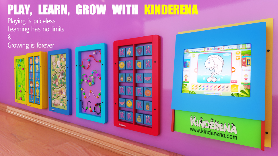 PLAY, LEARN, GROW –WITH KINDERENA